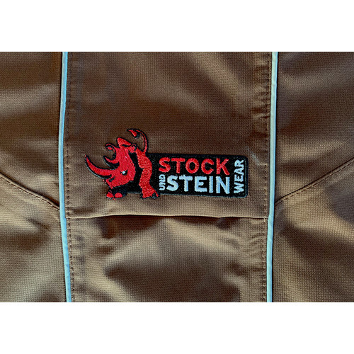 STOCK+STEIN® Wear Regenjacke Rainmaster Chocolate dunkelbraun L+
